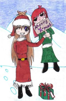 X-mas card by whispering-flames