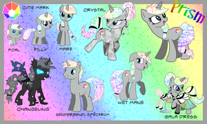 MLP OC Prism Reference Guide by Kazziepones