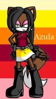 Azula...THE WOLF by gamergrl