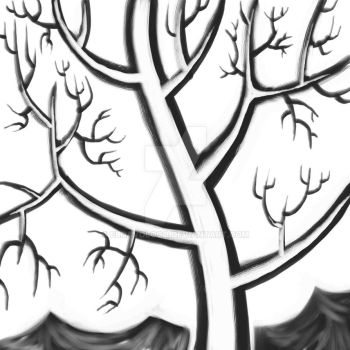 A Dream Of Branching Out (sketch) by eldavoloco