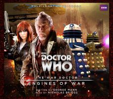Engines of War audiobook cover Big Finish style by Hisi79