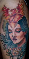 phoenix mind done fresh by tattooneos