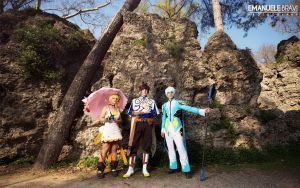 Tales of Zestiria ~ Sorey, Mikleo and Edna by Yamato-Leaphere