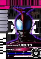 Decade Kabuto Form Card HQ by blueraven85