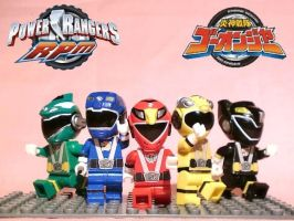 LEGo-onger (Power Rangers RPM) by 0yakata