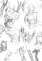 Male anatomy practice by Muirin007