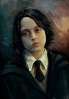 Severus Snape child by MarinaMichkina