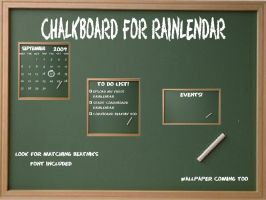 Chalkboard for Rainy by TNBrat