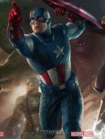 Captain America Avengers by MuffinPixie