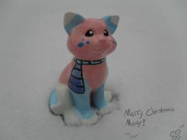 2010 Merry Christmas Mewy by eevee4everX3