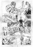 Judge Dredd - Cycle of Violence Page 3 by IgorChakal