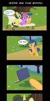 Give Me The Book. by PaulySentry