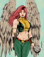 Hawkgirl 2 by Blindman-CB
