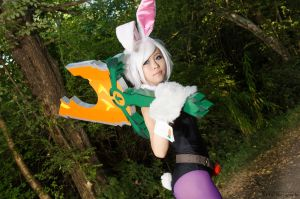 Battle Bunny Riven - Roaming Warrior by DISC-Photography