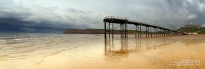 Saltburn Pier by brain-slug