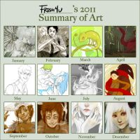 2011 summary of art by fresh4u