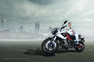 The Benelli Tornado Naked TRE899 by perigunawan