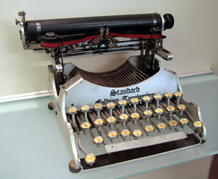 Early typewriter stock - 1907 by barefootliam-stock