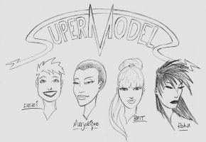 SuperModels4 by JeremyWhittington