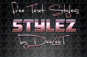 Free Photoshop Text Style by MyTechnique