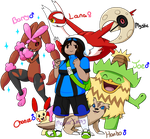 Alpha Sapphire Team! by MasterImpsy