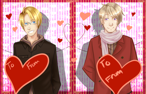 APH: Cold War Pair Valentine's Cards by ohboyomi