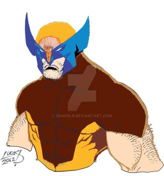 Wolverine -Flats 1 by Drakelb