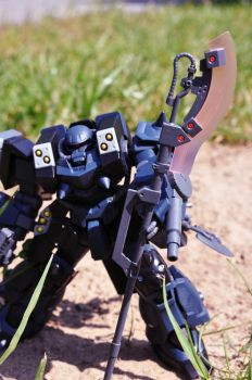 GPB-06F Super Custom Zaku F200 by Cherryred5