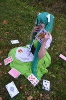 Distorted queen - AHS - Cosplay - Miku by ViikateFretti