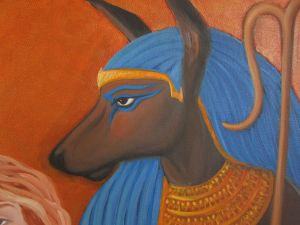The Soul and the Feather: Anubis