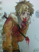 watercolor doodles: kenny by JewishStar