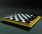3ds Max chess set by oulyt