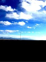 New Mexico sky.. by cryptwish