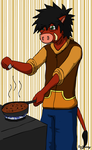 JR the Boar (Practice02) by GinoPinoy