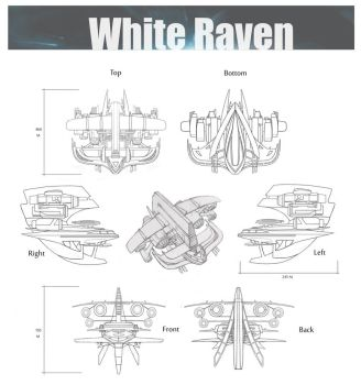 White Raven by Jeemfers