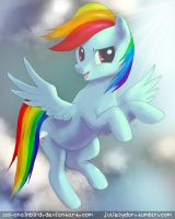 Rainbow Dash aw yeah by Los-Chainbird