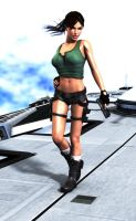 lara croft render 04 by JavierMicheal