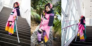 Momohime Cosplay AX09 by xxpo0k13x