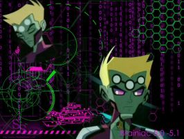 Brainiac 5 Background by LOSH-Fanclub