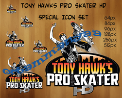 Tony Hawks Pro Skater HD Icon Set by ortammanyaa