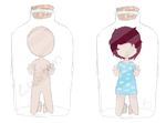 FREE Bottle Adopts  Customs by oO0RyuuHeartsYou0Oo