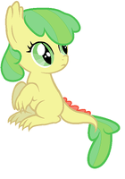 Apple Leaf - Spikebloom filly by unoriginaI
