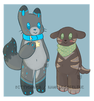 Anthro Buddies Adopts [closed] by NamelessFeline