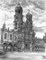 Zapopan Cathedral by JeSSanchez