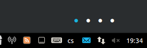 Conky workspace Indicator (compiz version) by martyjelen