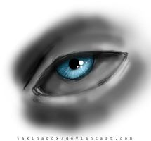 Blue eye by Jakinabox