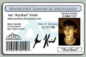DeviantArt license by Aurikan