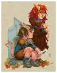 Tiefling Tykes by Everwho