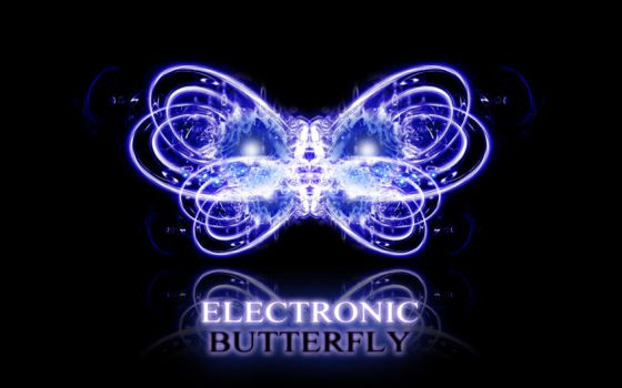 electronic butterfly I by gr8nachan
