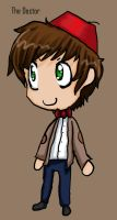 Dr.Who Chibi by LAZy247